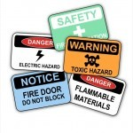 Free Workplace Safety Signs Stock Photo