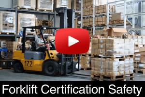 Forklift Certification Safety Training