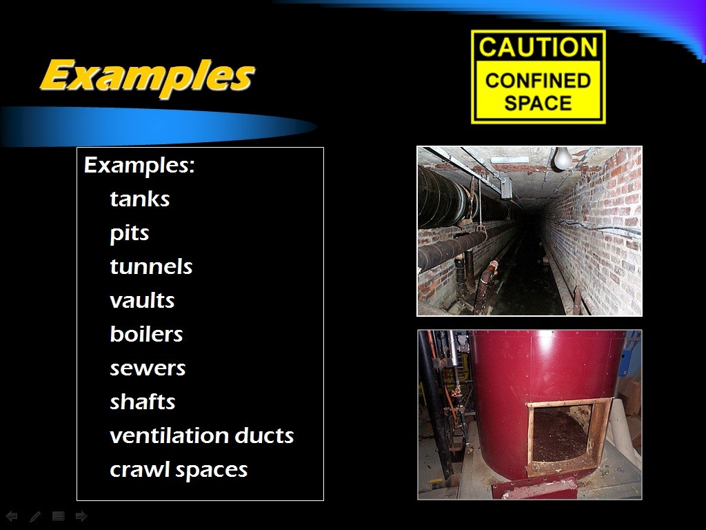 Atlantic trainings confined space training materials confined space training powerpoint pronofoot35fo Images