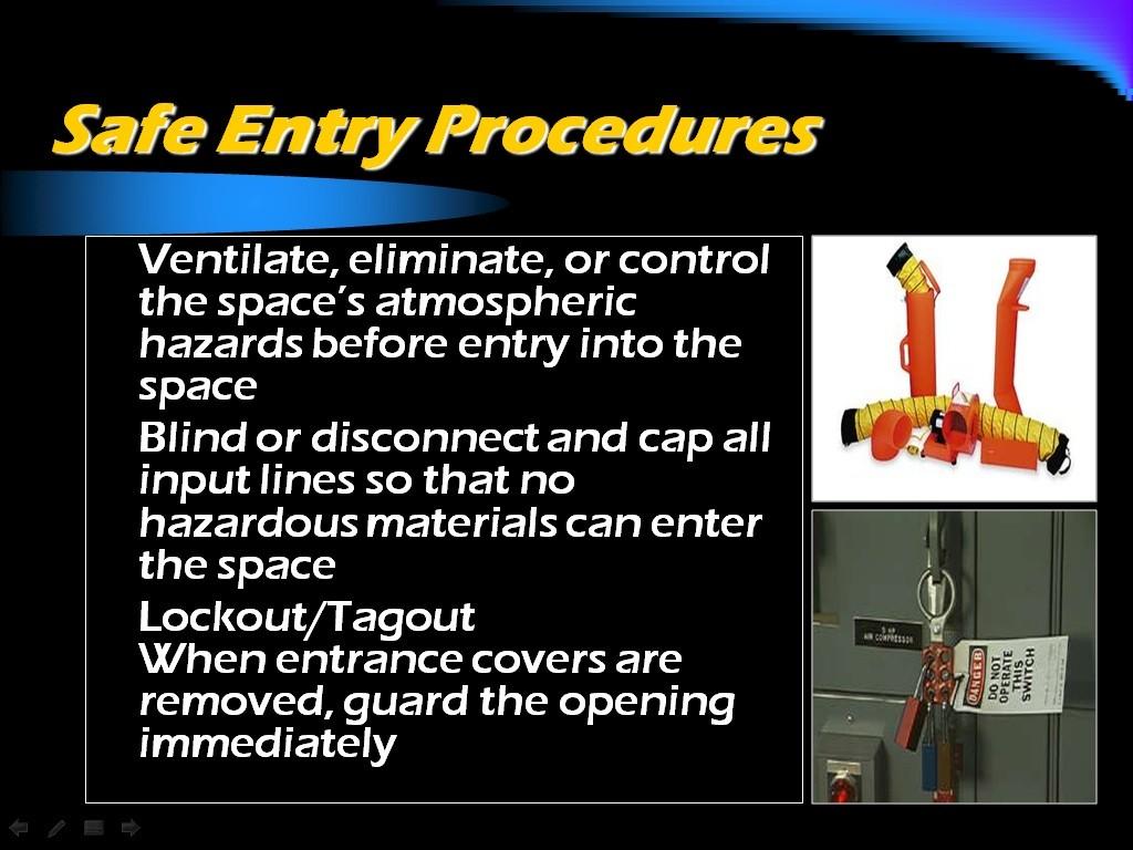 Atlantic Training S Confined Space Training Materials