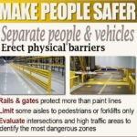 Forklift Safety Infographic: Forklifts and Pedestrians Do Not Mix