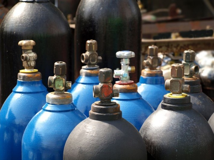 Compressed Gas Cylinders - Handling, Labeling and Testing