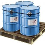 GHS hazcom barrel