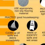 Slips & Trips Infographic: Preventing Falls