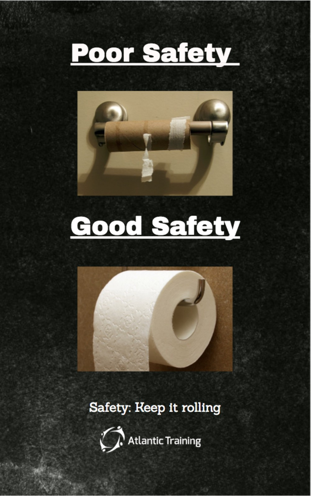 Safety Poster Reminder For Your Workplace Bathroom
