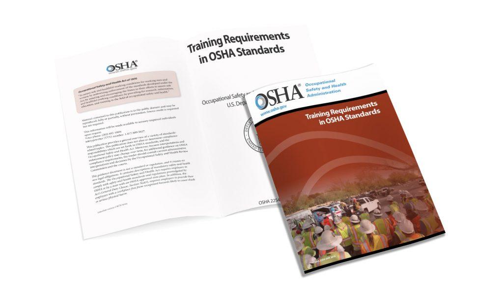 OSHA Safety training requirements