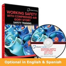 Working Safely with Compressed Air Gory Story Training DVD and Video Program
