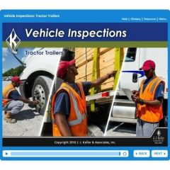 Vehicle Inspections: Tractor Trailers - Online Training Course