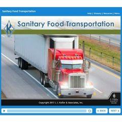 Sanitary Food Transportation Online Training