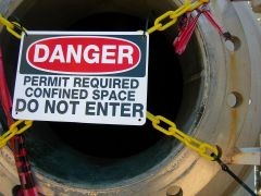 Confined Space Entry In Construction Training Video and DVD Program