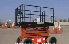 Scissor Lifts For Construction Training Video Program