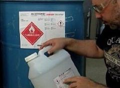 GHS Container Labeling in Construction Online Training