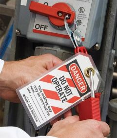 LockOut TagOut Gory Story Safety Training Video and DVD Program
