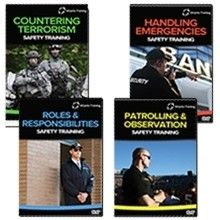 Professional Security Officer Series Training Videos by Efilm
