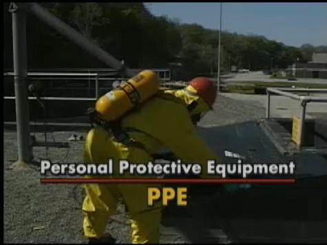Examples of what proper PPE can protect you from.