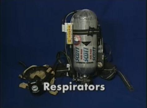 The need for Level A respirators in toxic surroundings.