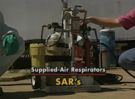 The advantages and disadvantages of using a supplied-air respirator.