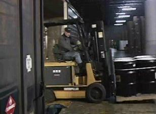 Understanding the overall stability of a forklift.