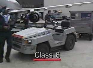 Two other classes besides 1-5 that are designated as industrial trucks.