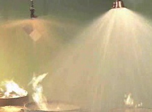 How a sprinkler system works as a first line of defense against fire.