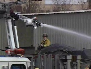 The effectiveness of water and water-based foam fire extinguishers.