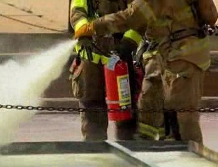 Knowing the importance of preventing fires and the location and use of fire extinguishers.