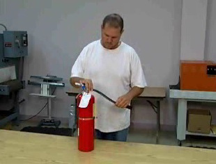 The importance and frequency of fire extinguisher inspections and maintenance.