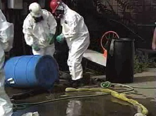 How chemical spill cleanup procedures need to be instituted.