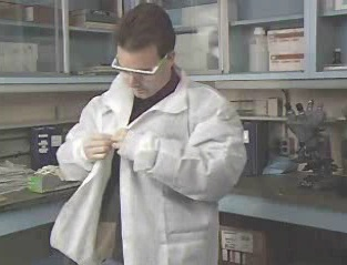 How to select the proper type of lab coats and other protective clothing.