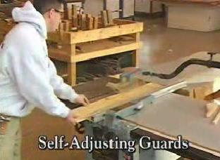How Self-Adjusting Machine Guards eliminate constant re-positioning.