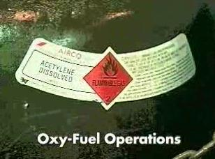 The hazards associated with Oxy-Fuel operations.