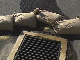 Knowing the reasons why sandbags cannot be used when there is a chemical spill.