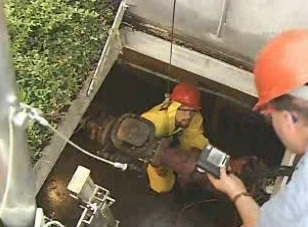 How a confined space entry cannot be considered