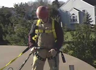 The role of the attendant in a confined space entry team.