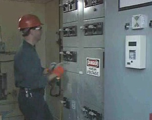 The procedures to follow involving shutting off electricity during an electrical accident.