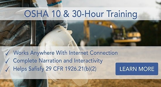 OSHA 10 & 30 - Hour Training